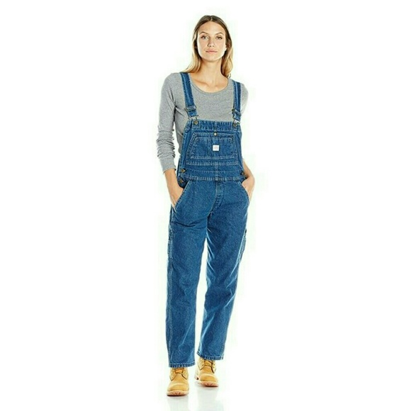 753e2e494511 key Denim - Women s KEY denim bib overalls 10S